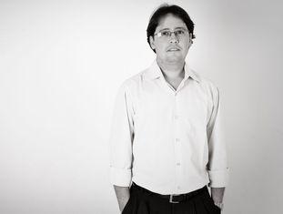 O biólogo Luciano Pamplona.