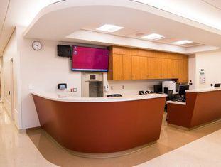 Novo posto de enfermagem do hospital estudado.