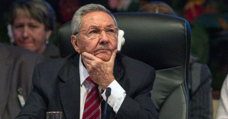 Castro durante a Cúpula dos Estados do Caribe em Havana.
