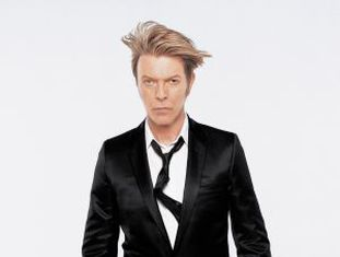 O cantor David Bowie.