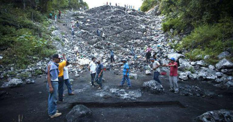 O lixão de Cocula, em foto de 2014.