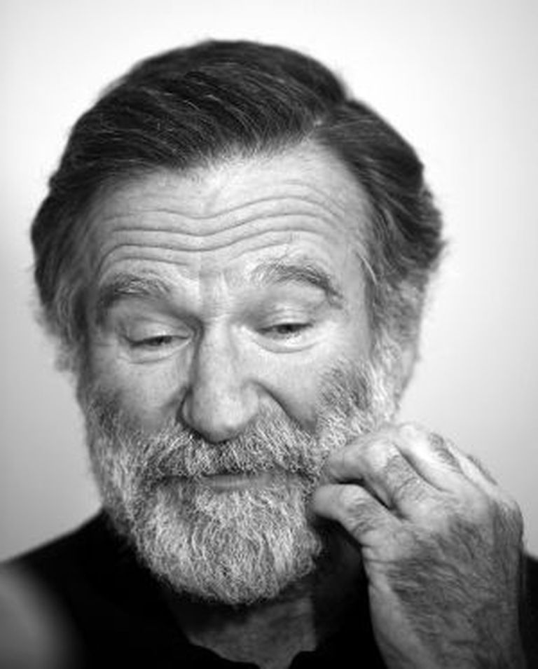 O ator Robin Williams.