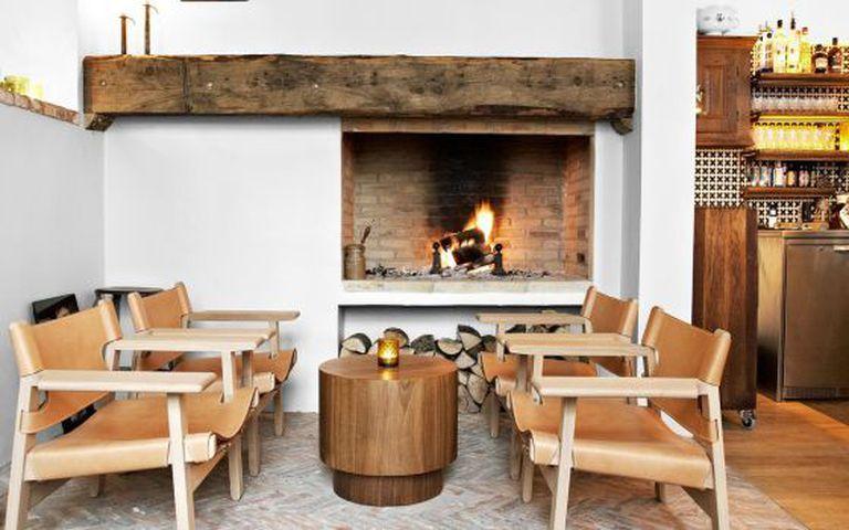 Recanto do Lidkoeb Coquetel Bar, em Copenhague.