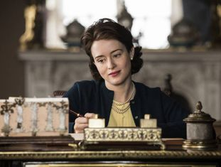 Claire Foy, em 'The Crown'.