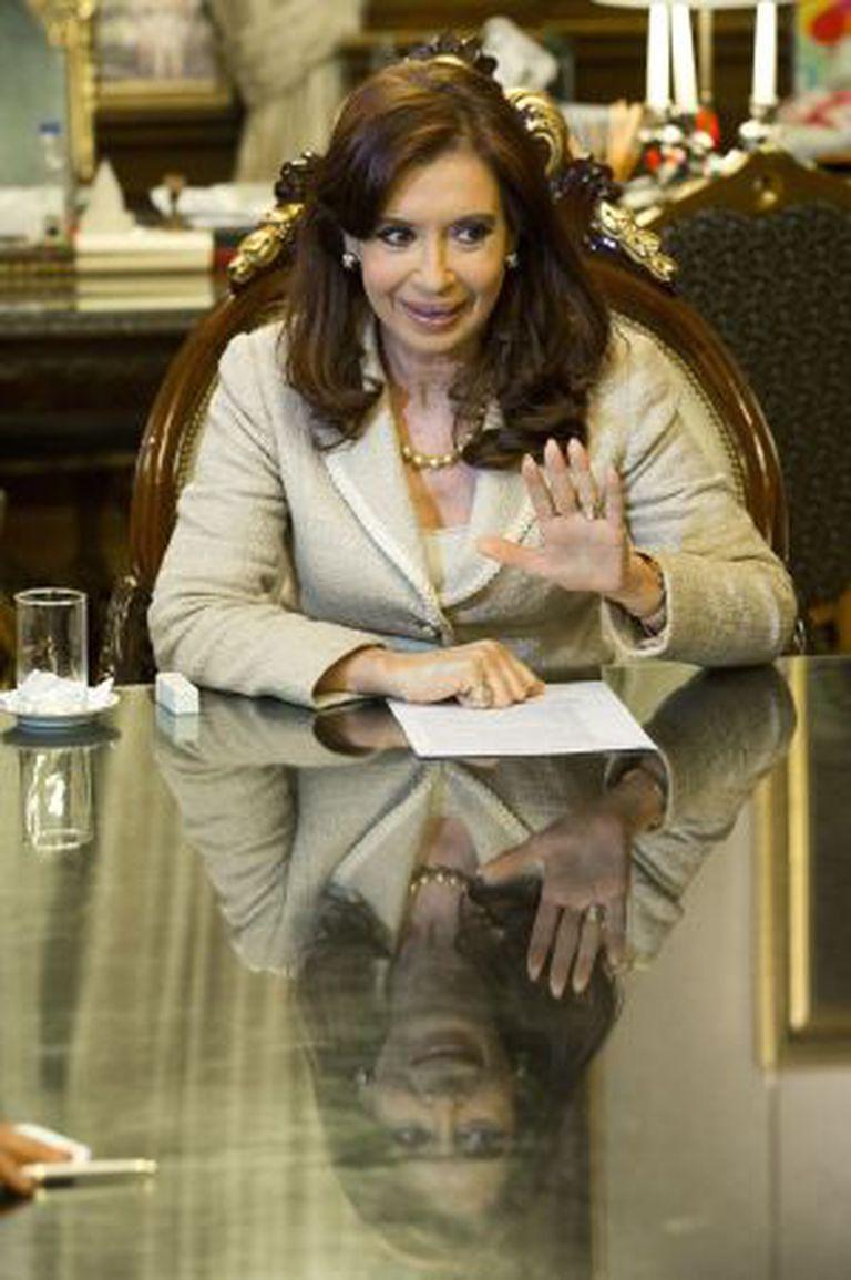 A presidenta argentina Cristina Fernández de Kirchner.
