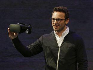 Brendan Iribe, cofundador e CEO da Oculus VR.