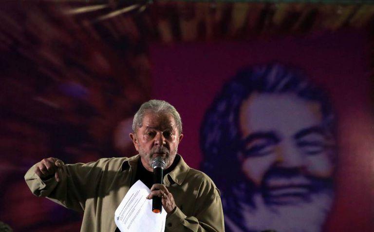 Lula, no último 15 de agosto em Santo André.