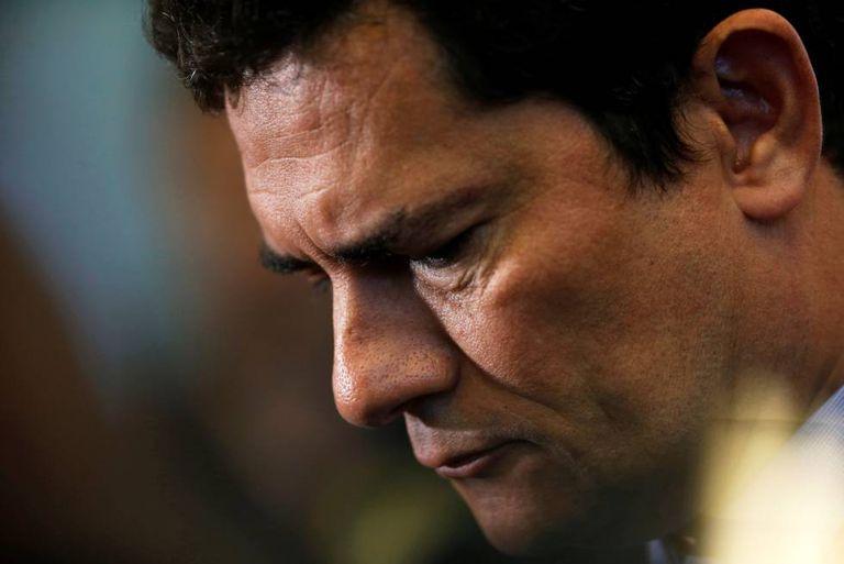 Sergio Moro em cerimônia nesta sexta.