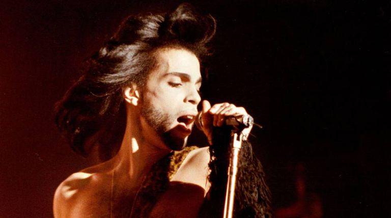 Prince em uma imagem de 1990.