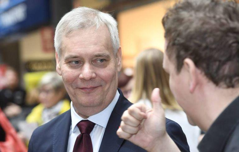 Antti Rinne, líder social-democrata na Finlândia.