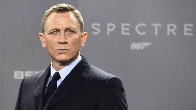 Daniel Craig, no lançamento de '007 Contra Spectre'