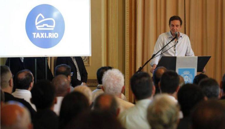 O prefeito do Rio, Marcelo Crivella.