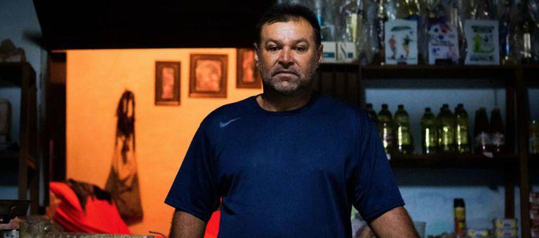 José Auri de Azevedo Alves, dono da mercearia da comunidade Barra e figurante no filme 'Bacurau'.