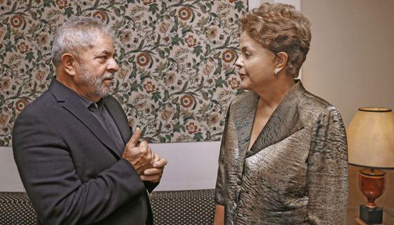 Lula e Dilma se reúnem em São Paulo.