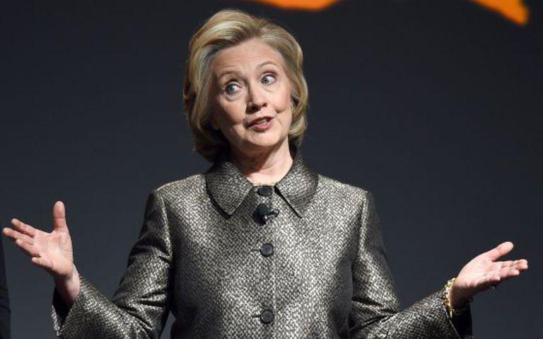 Clinton, em um evento em março.