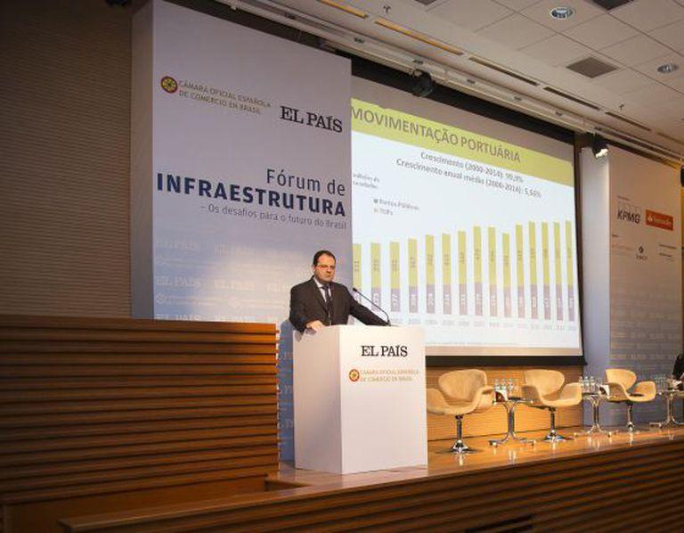 Ministro do Planejamento, Nelson Barbosa, participa do Fórum de Infraestrutura realizado pelo EL PAÍS.