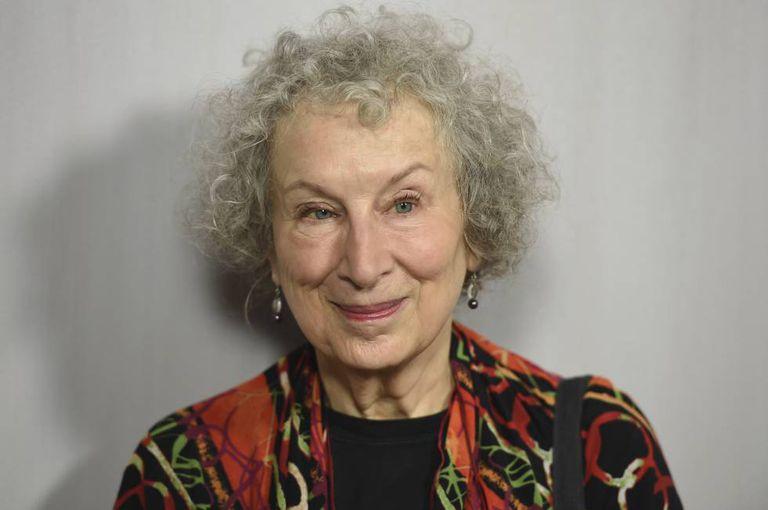 Margaret Atwood em outubro, em Los Angeles.