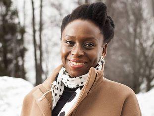 Chimamanda Ngozi Adichie, em Columbia, no ano passado.