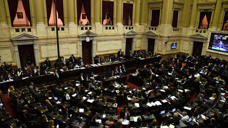 Câmara dos Deputados da Argentina.