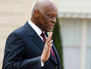 O presidente de Angola, Jose Eduardo Dos Santos, em 2014.