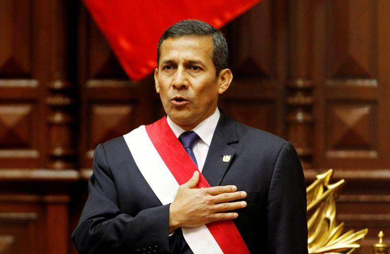 O ex-presidente peruano Ollanta Humala, em 2013.