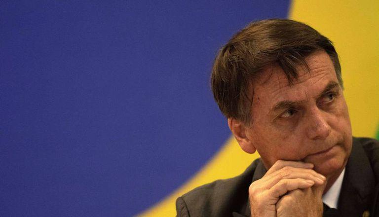 Jair Bolsonaro, presidente eleito do Brasil, em reunião com governadores.