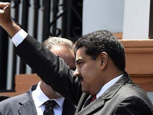 Nicolás Maduro nesta terça-feira em Caracas.