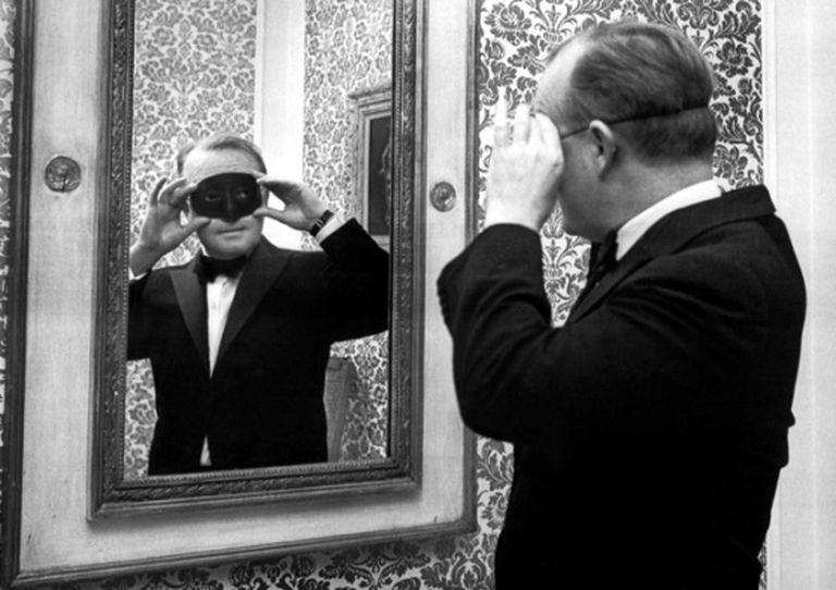 Truman Capote, um dos grandes protetores de Denham Fouts.