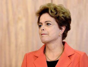A presidente Dilma em cerimônia no Itamaraty no dia 4.