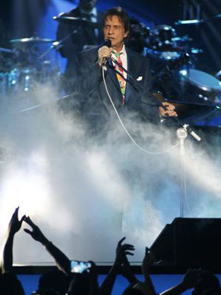 Roberto Carlos, em um recente festival em Florença.