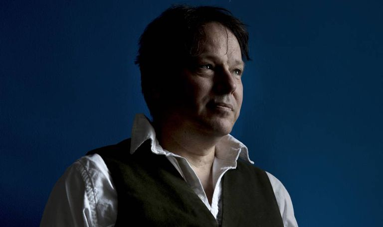 David Graeber, retratado na London School of Economics