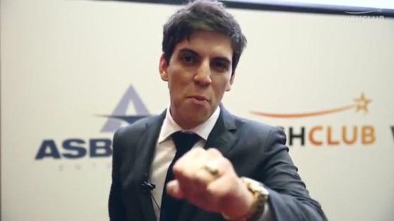 O representante do WishClub na Espanha, Rogério Alves da Silva.