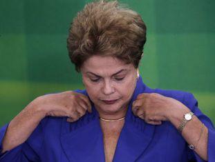 Rousseff na quarta-feira passada