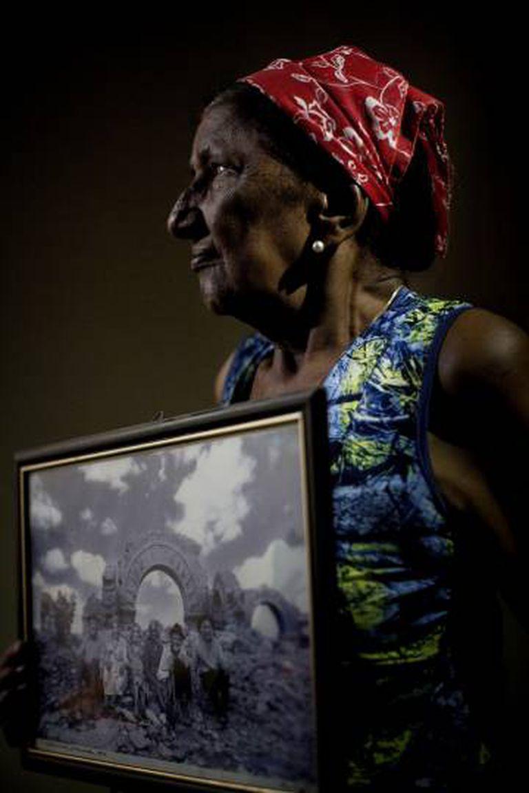 Dona Durú, cujos avós foram combatentes