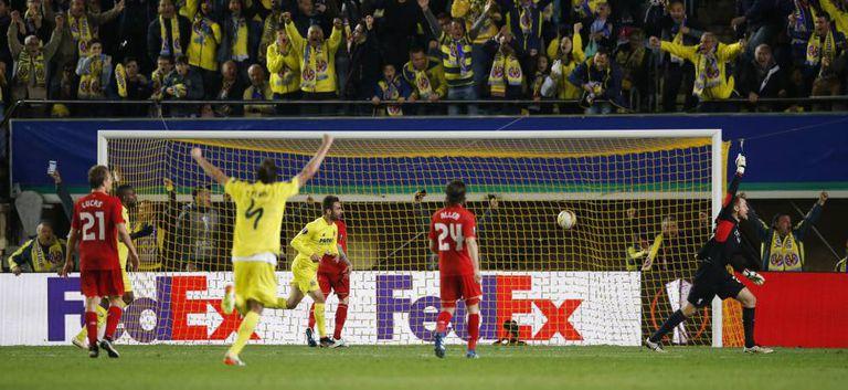 Gol do Villarreal no último minuto de jogo.