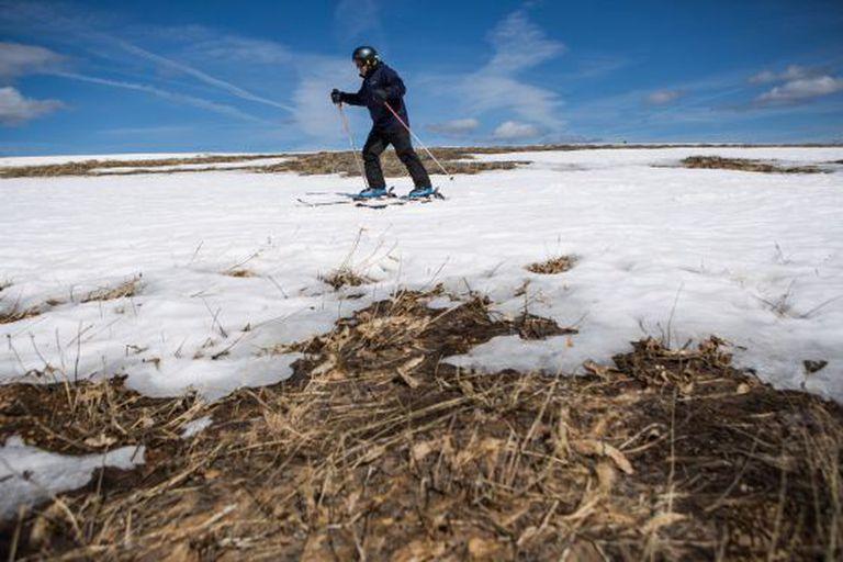 Califórnia não tem reservas de neve.