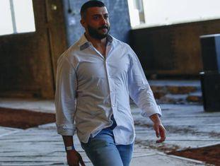 O estilista Khalid Al Qasimi, durante a Semana da Moda de Londres, em junho.