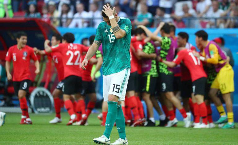Sule lamenta o primeiro gol sul-coreano.