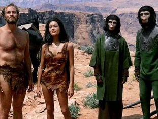 Fotograma de 'O Planeta dos Macacos', filme de 1968.