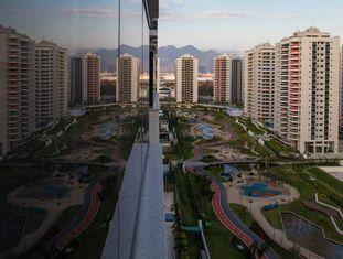 Vista geral da Vila Olímpica, na Barra da Tijuca.