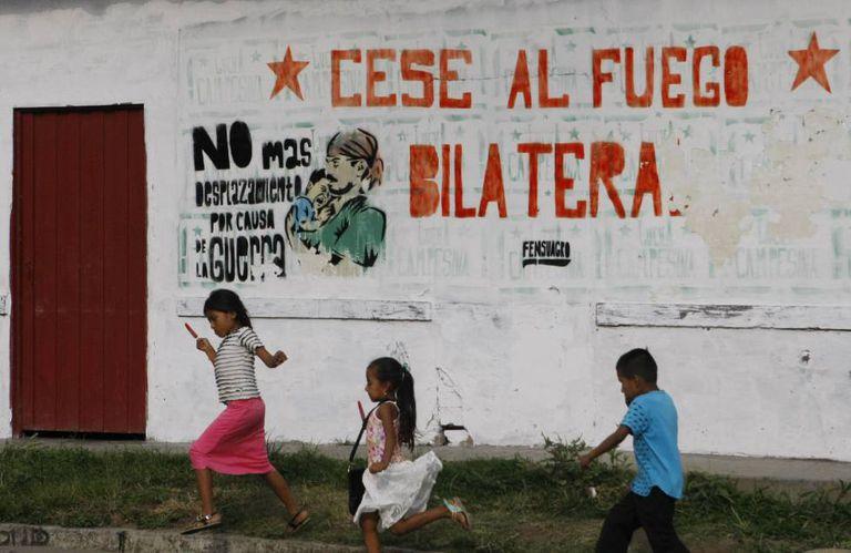 No Estado de Cauca, o cessar-fogo definitivo enche de esperança quem padeceu no conflito.