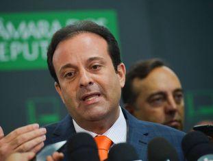 O deputado André Moura, nesta terça-feira.