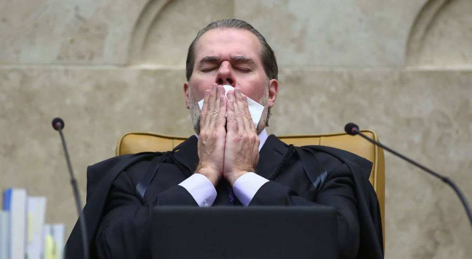 O presidente do STF, Antonio Dias Toffoli.