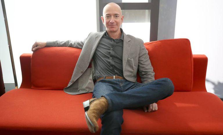 Jeff Bezos, em outubro do ano passado em San Francisco.