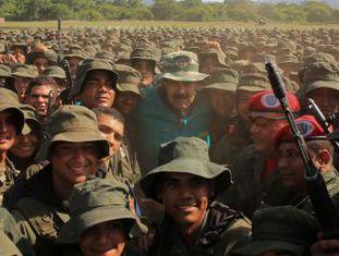 Com 123.000 membros, Força Armada Bolivariana foi reformada por Hugo Chávez para exercer o controle social