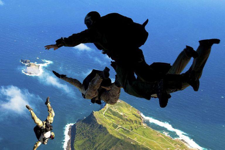 Treinamento de 'Navy Seals'.