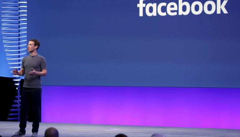 Mark Zuckerberg durante a conferência F8.