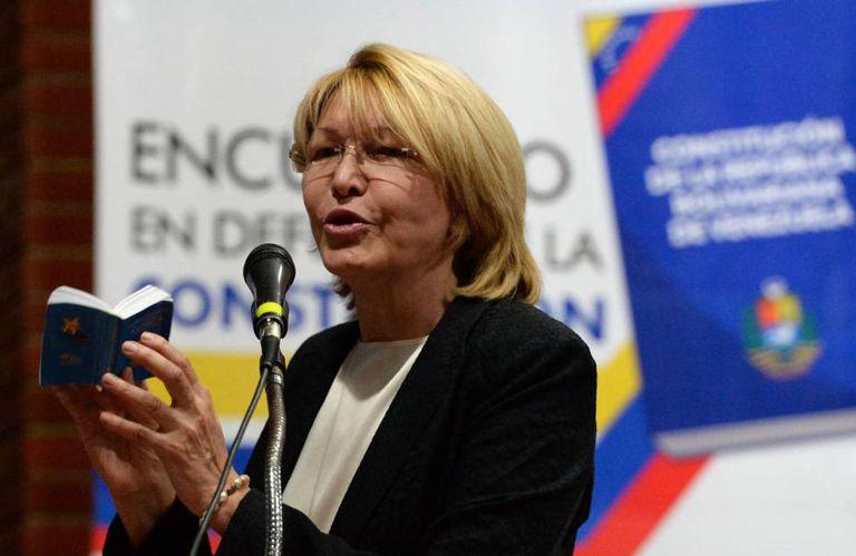 Luisa Ortega, em um ato público recente na Venezuela.
