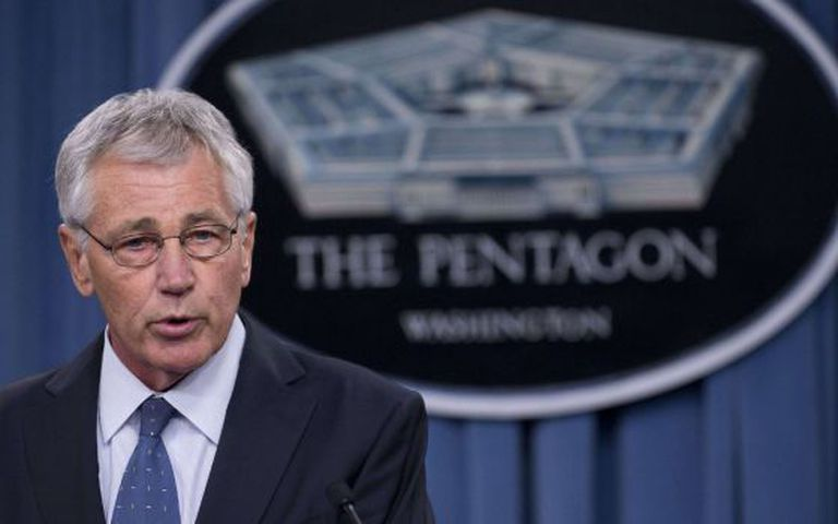 O secretário de Defesa, Chuck Hagel.
