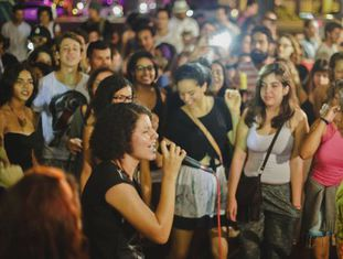 MC Lidi, em uma apresentação no Rio.